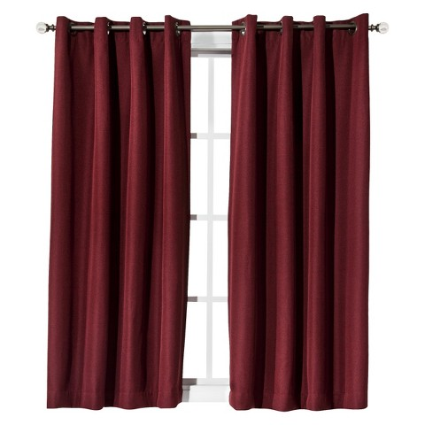 Eclipse™ Light Blocking Fairfax Thermaweave Curtain Panel