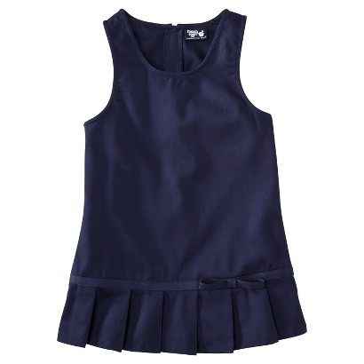French Toast® Toddler Girls School Uniform Pleated Hem Jumper