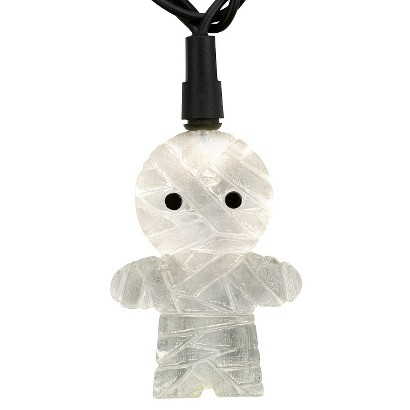 10ct Warm White LED Mummy String Lights