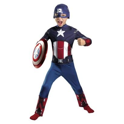Boy's Captain America Avengers Classic Costume