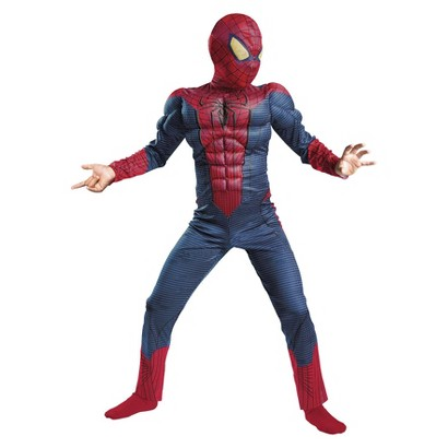 Boy's Spider-Man Movie Classic Muscle Costume