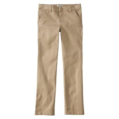 Cherokee® Girls' Twill Pant