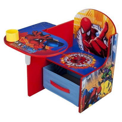 Delta Children's Products Chair Desk with Storage Bin - Spiderman