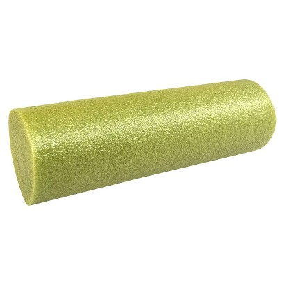 Natural Fitness High-Density Foam Roller - Olive (18x6 Rnd)