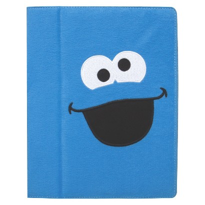 iSound Sesame Street Cookie Monster Plush Portfolio for iPad 2 - Blue (ISOUND-4611)