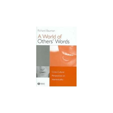 A World of Others' Words (Hardcover)