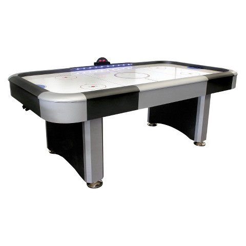 DMI Sports Air Hockey Table Lighted Rail - Black/Silver (7 ft)