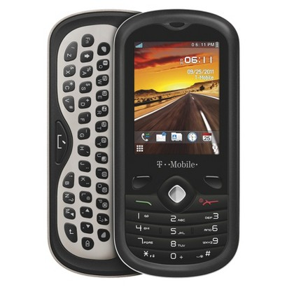 T-Mobile Sparq Pre-Paid Cell Phone - Black