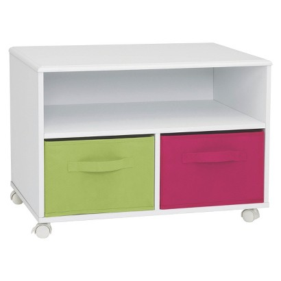 4D Concepts Zany TV Cart - White