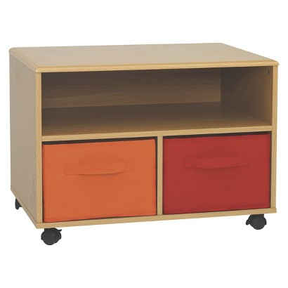4D Concepts Crawford TV Cart - Beech