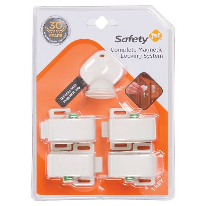 Safety 1st 5-Piece Complete Magnetic Locking System