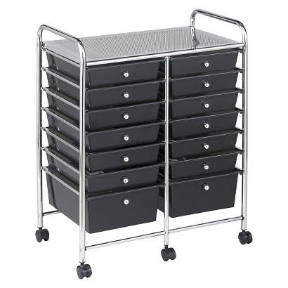 ECR4Kids Black Mobile Organizer - Various Sizes
