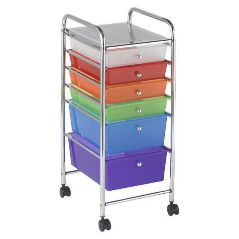 ECR4Kids Multicolor Mobile Organizer