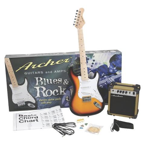 Archer Jr. Guitar Pack - Sunburst (GTSSS10JRPAKSB)