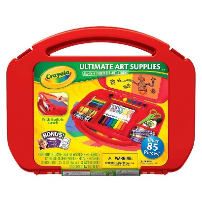 Crayola Ultimate Art Supply Case with Easel