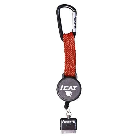 iCat Reel iT Retractable Reel Leash for iPhone® - Orange (11018CP-C98)