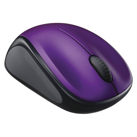 Logitech M317 Wireless Mouse - Violet (910-002900)