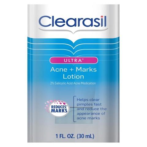 Clearasil Ultra Acne + Marks Spot - 1 oz