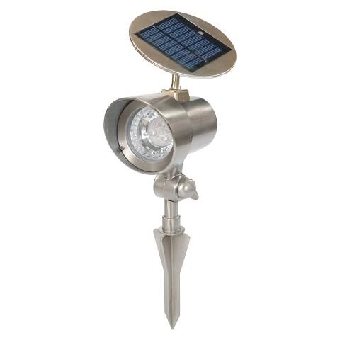 Nature Power Solar Flood Light - Silver