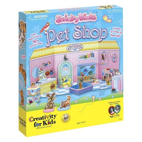 Creativity For Kids Shrinky Dinks Pet Shop