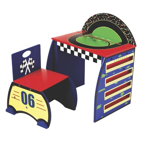 Levels Of Discovery Activity Desk Set - Race Track
