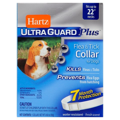 Hartz® UltraGuard Plus® Flea & Tick Collar for Dogs - White (1 Count)