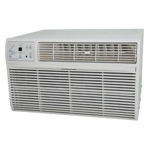Frigidaire FRA124HT1 Energy Star 12,000 BTU 115-Volt Through-the-Wall Air Conditioner with Temperature