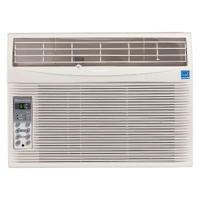 Sharp 12 000 btu energy star window air conditioner with for 12 000 btu window air conditioner
