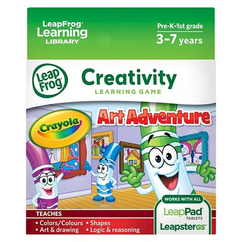 LeapFrog® Learning Game: Crayola Art Adventure (for LeapPad® Tablets and LeapsterGS)