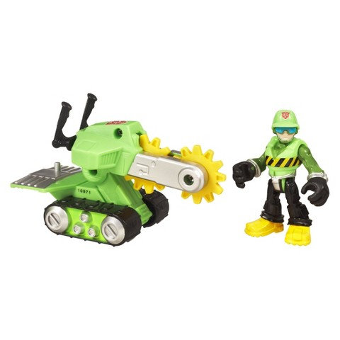 Transformers Rescue Bots Playskool Heroes Walker Cleveland and Rescue Saw Figure Set