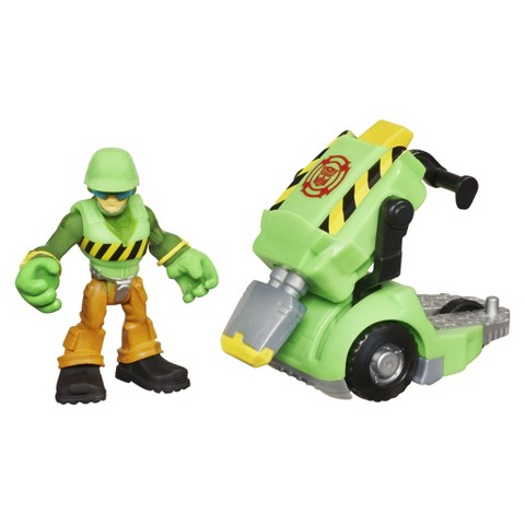 Transformers Rescue Bots Playskool Heroes Walker Cleveland and Jackhammer