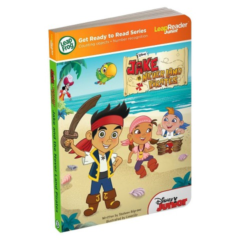 LeapFrog® LeapReader® Junior Book: Disney's Jake and the Never Land Pirates (works with Tag