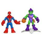 Marvel Spider-Man Adventures Playskool Heroes Spider-Man and Green Goblin - Pack of 2