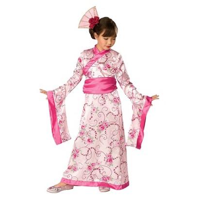 Image of Girl's Cherry Blossom Child Costume - S