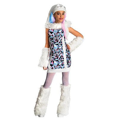 Image of Girl's Monster High Abbey Bominable Costume