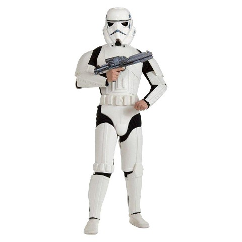 Star Wars Men's Stormtrooper Costume OSFM