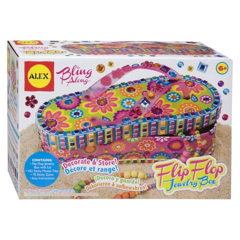 Alex Toys Bling Along Flip Flop Jewelry Box