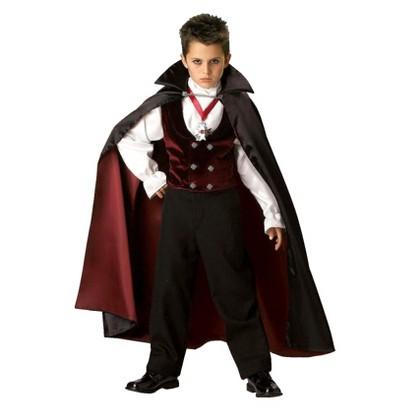 Kid's Gothic Vampire Elite Collection Child Costume