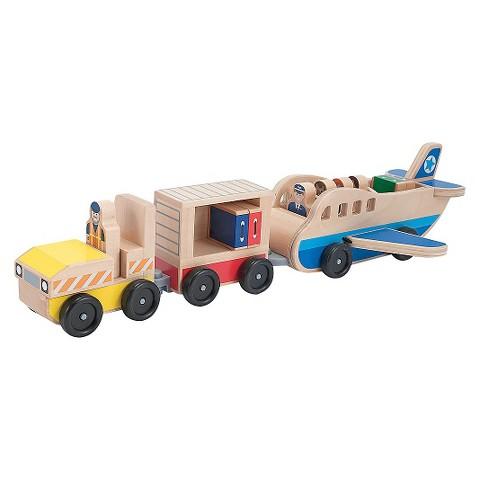 Melissa & Doug® Whittle World Plane & Carrier Set