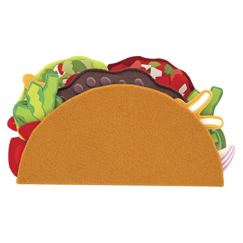 Melissa & Doug® Felt Food - Taco & Burrito Set