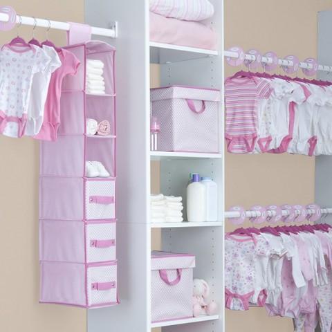 Delta Nursery Storage Set- 48 pc