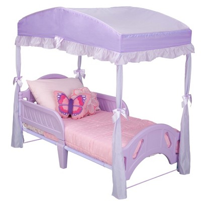 Delta Girls Toddler Bed Canopy - Purple