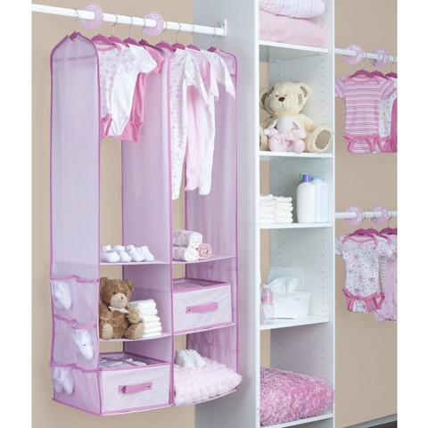 Delta Children Nursery Closet Organizer - 24 pc