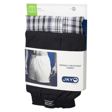 JKY™ by Jockey 2Pk Woven Boxers - Assorted Colors