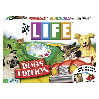 Winning Moves The Game of Life® Dogs Edition