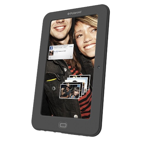 "Polaroid 7"" Android Tablet with 4GB Hard Drive, 500MB Memory - Black (PMID703CBK)"