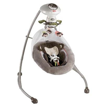 Fisher-Price Cradle 'n Swing - My Little SnugaMonkey