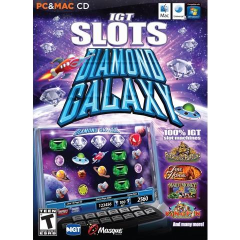 IGT Slots: Diamond Galaxy (PC & MAC Games)