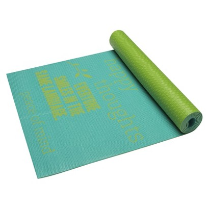 Gaiam Be Inspired 4mm Yoga Mat
