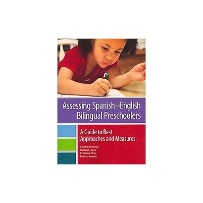 Assessing Spanish-English Bilingual Preschoolers (Paperback)